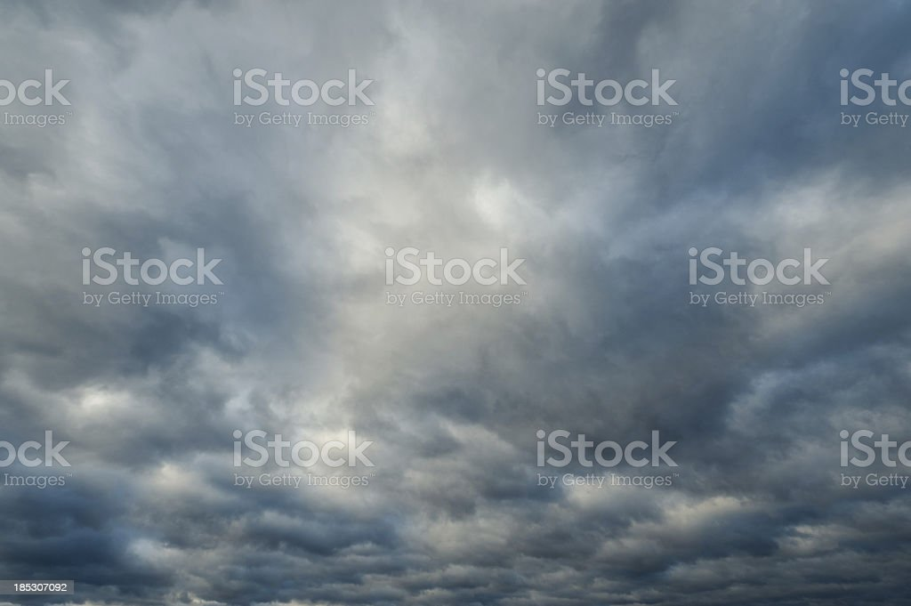 Cloudiness royalty-free stock photo