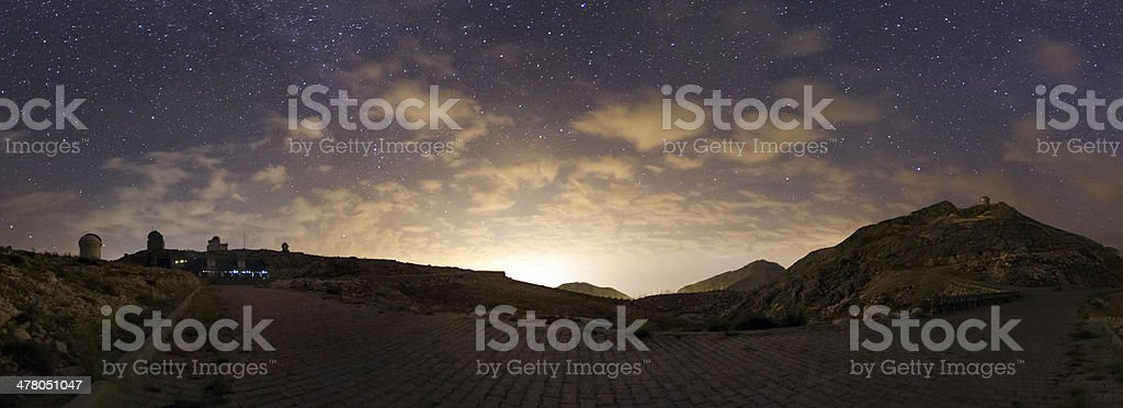 Clouds against the Light royalty-free stock photo