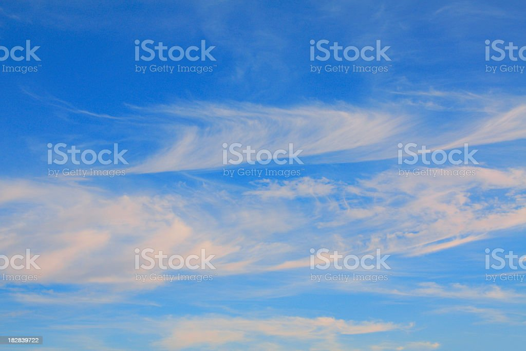 Clouds and Blue Skies stock photo