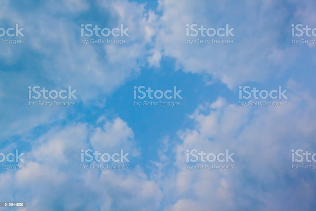 clouds and sky (cloud) natural background stock photo