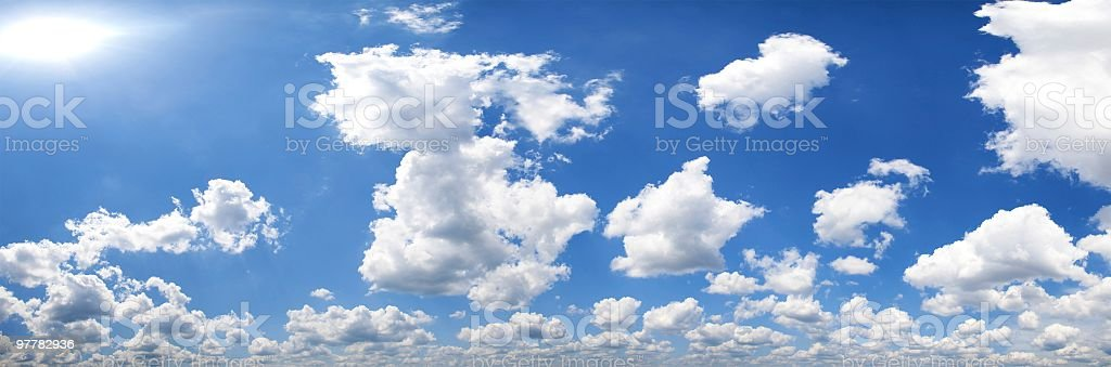 clouds and sky royalty-free stock photo