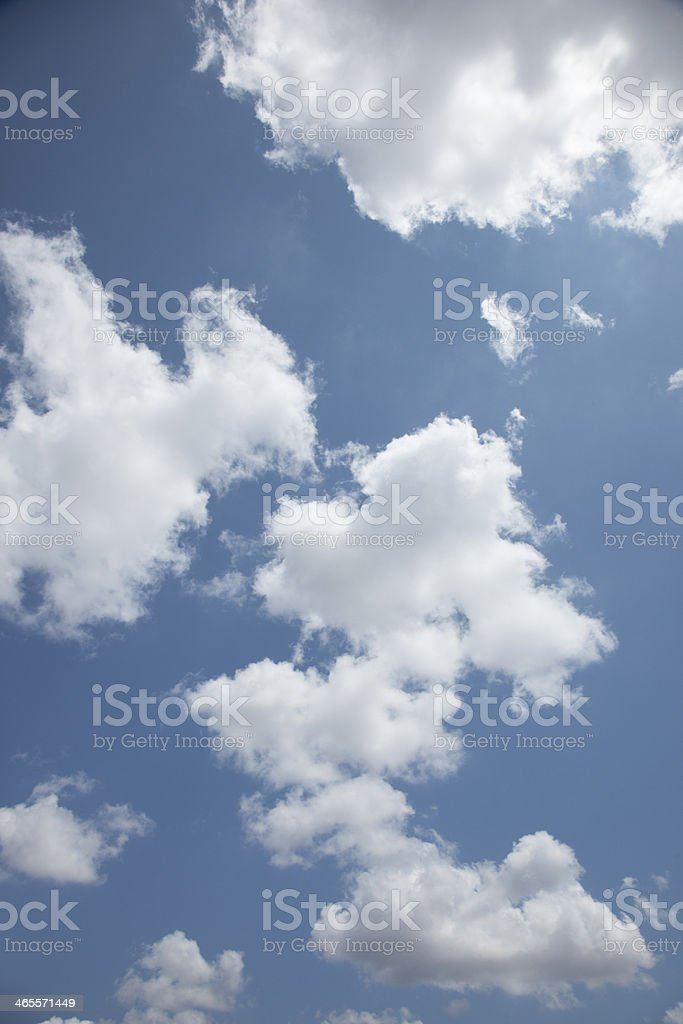 Clouds and sun royalty-free stock photo