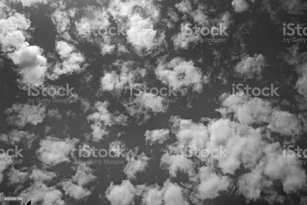 Clouds background texture stock photo