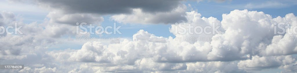 Clouds banner stock photo