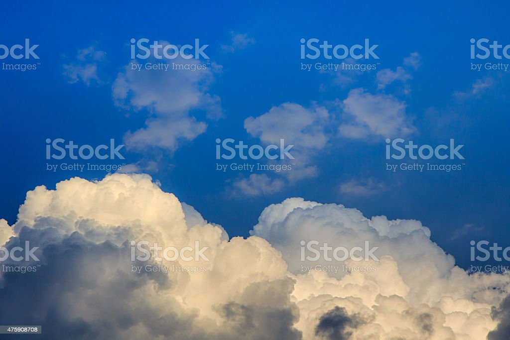 Clouds before storm royalty-free stock photo