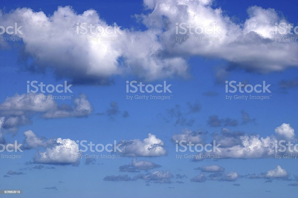 Clouds Horizontal royalty-free stock photo