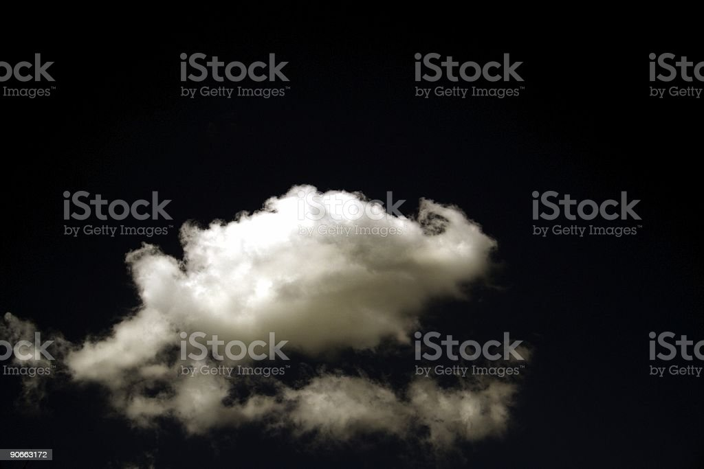 Clouds in Deep Space royalty-free stock photo