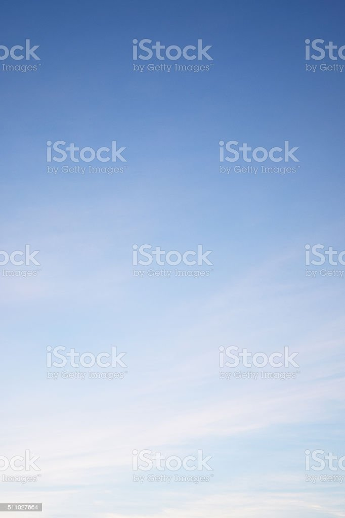 Clouds in the blue sky Nature Environment stock photo