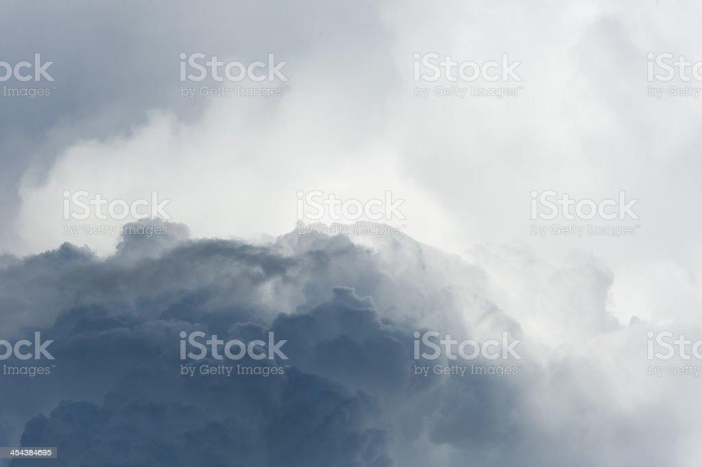 Clouds Kumulonimbus royalty-free stock photo