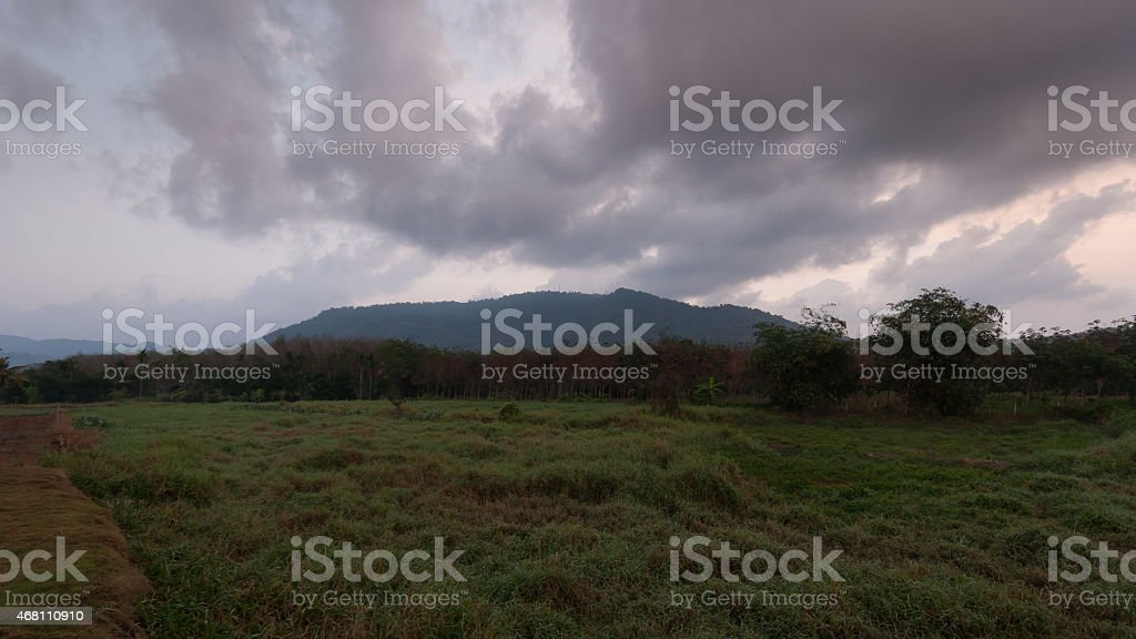 Clouds movement royalty-free stock photo