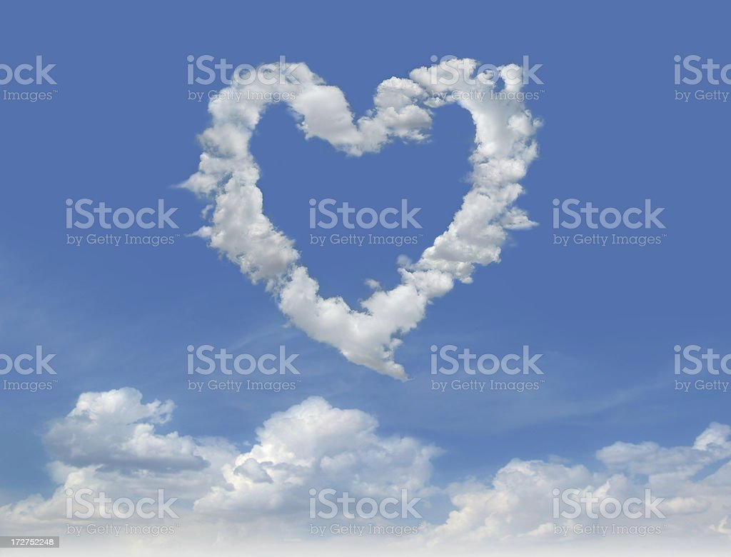 Clouds of Love 2 royalty-free stock photo