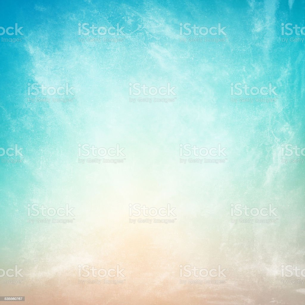 clouds on a textured vintage paper background stock photo