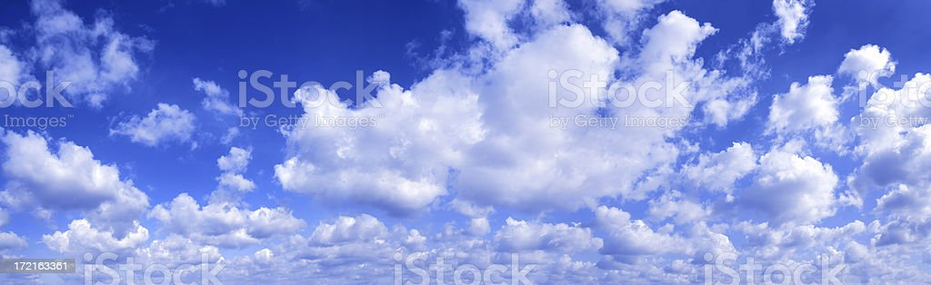 Clouds on sky royalty-free stock photo