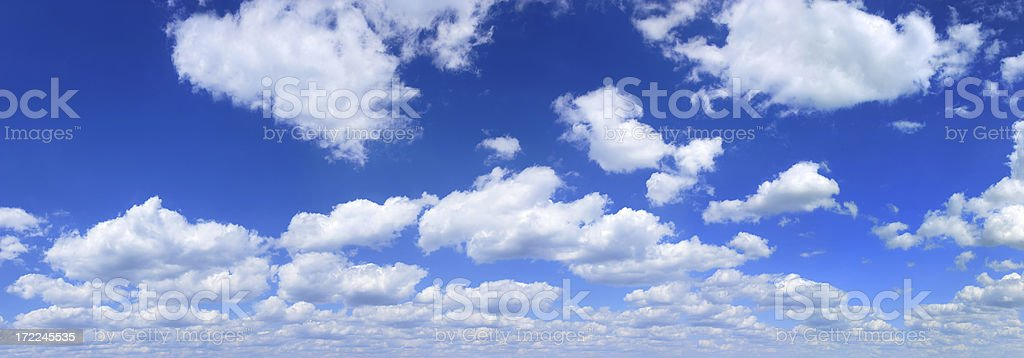 Clouds on sky stock photo