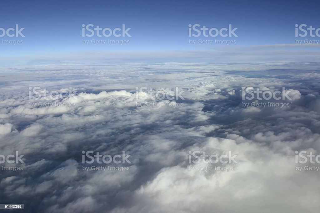 clouds overcast stock photo