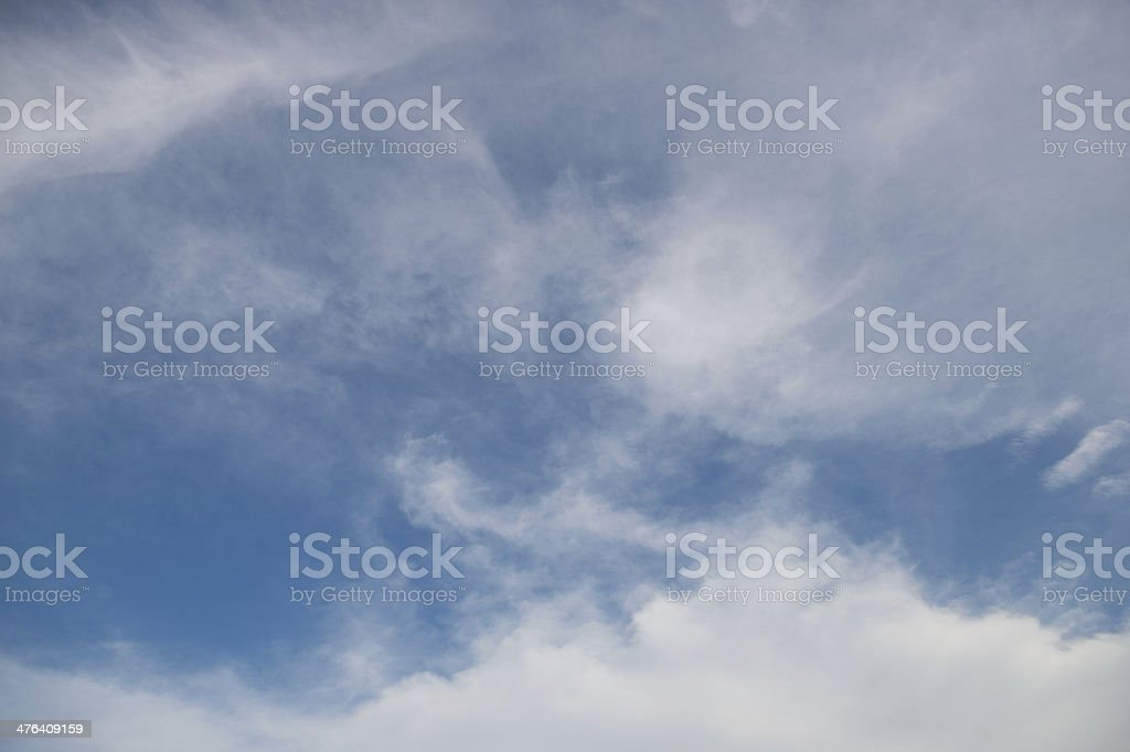 clouds royalty-free stock photo