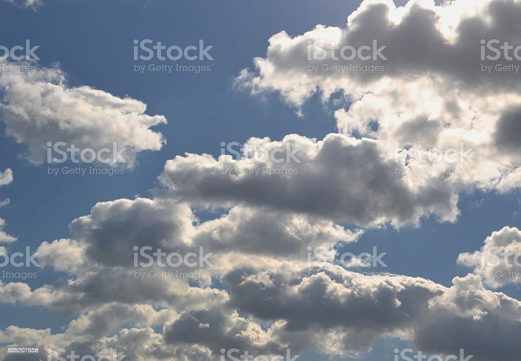 Wolken stock photo