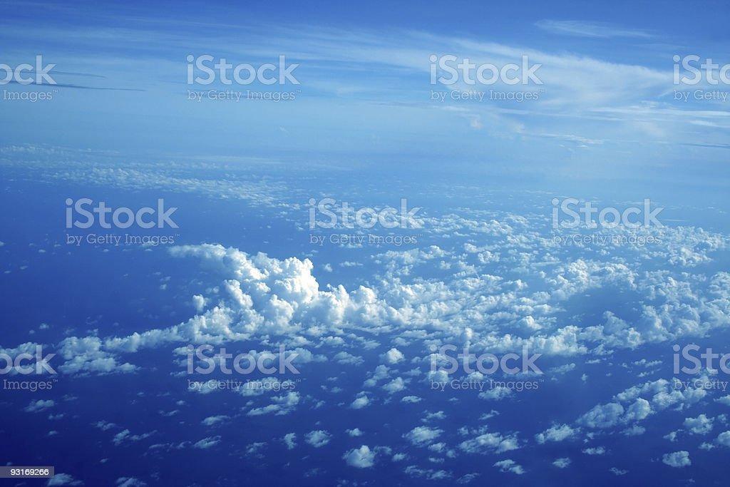 Wolken Lizenzfreies stock-foto
