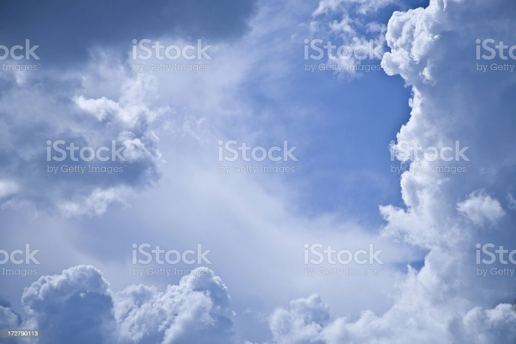 Clouds series royalty-free stock photo