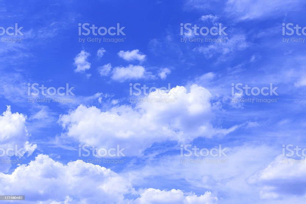 clouds, sky royalty-free stock photo