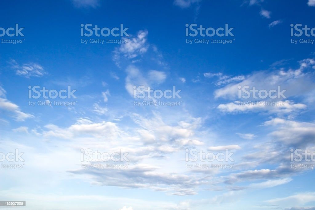 Clouds sky stock photo