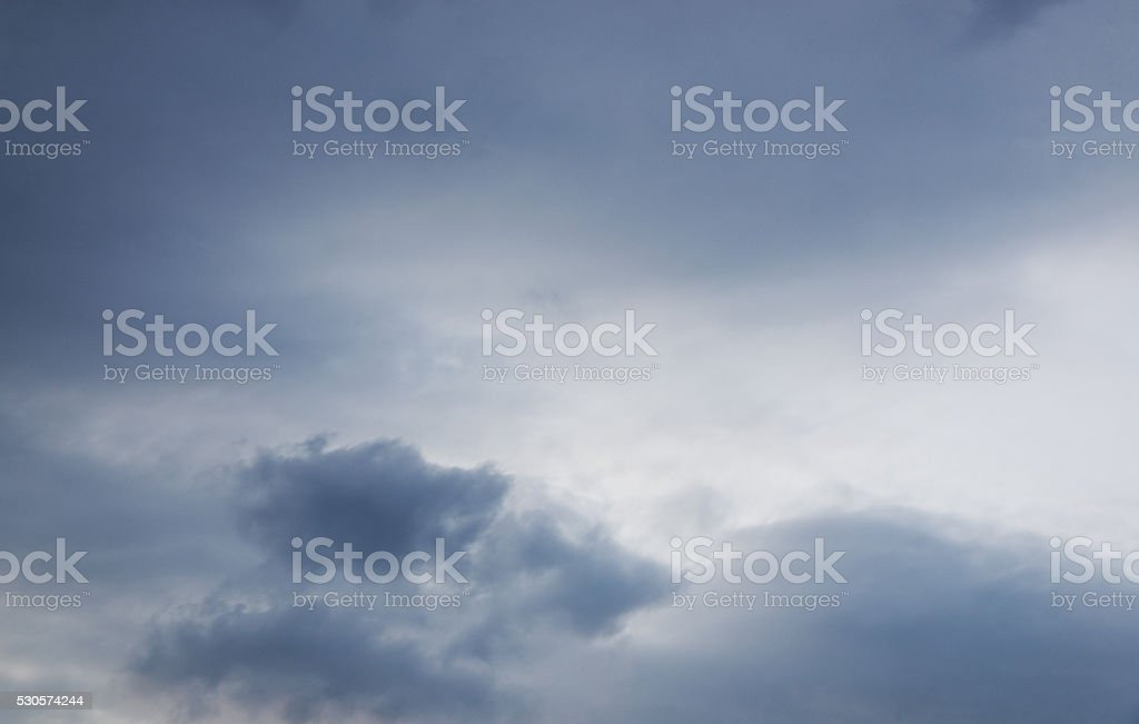 Clouds sky stock photo