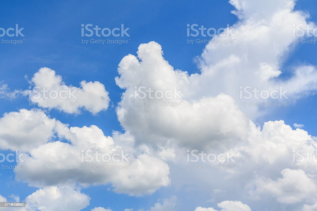 Clouds with blue sky royalty-free stock photo