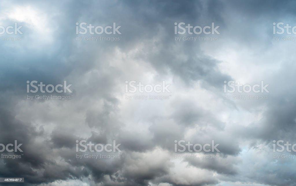 Clouds XXL stock photo