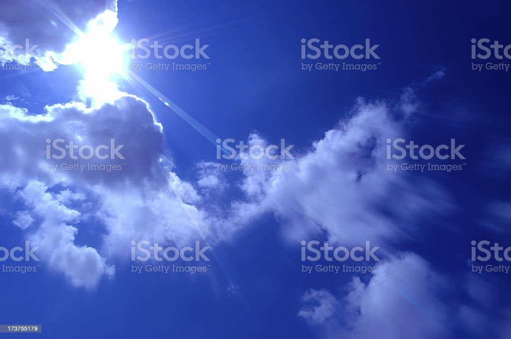 Clouds01 royalty-free stock photo