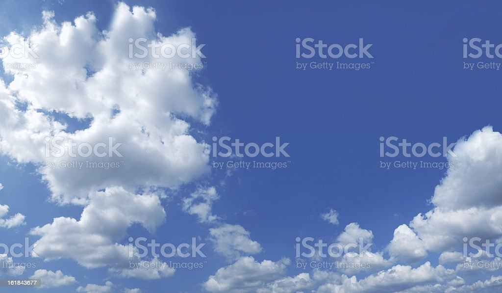 Cloudscape 54mpx royalty-free stock photo