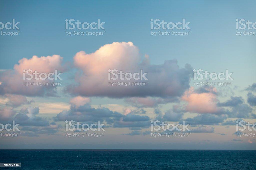 Cloudscape at sunset – Foto