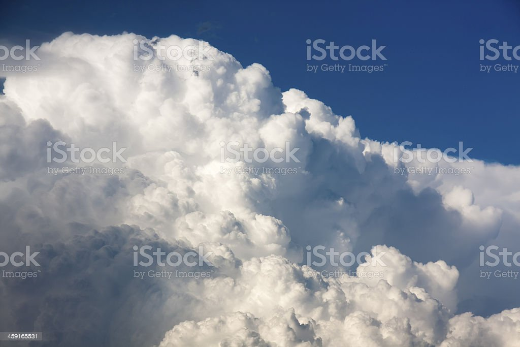 Cloudscape background royalty-free stock photo