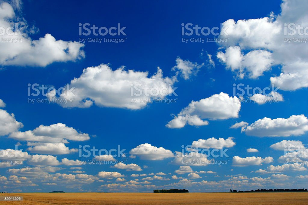 Cloudscape II stock photo