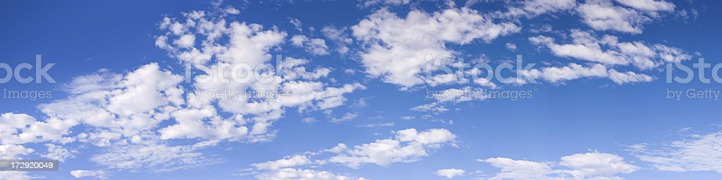 Cloudscape Panorama XXXL - 126 Megapixel royalty-free stock photo
