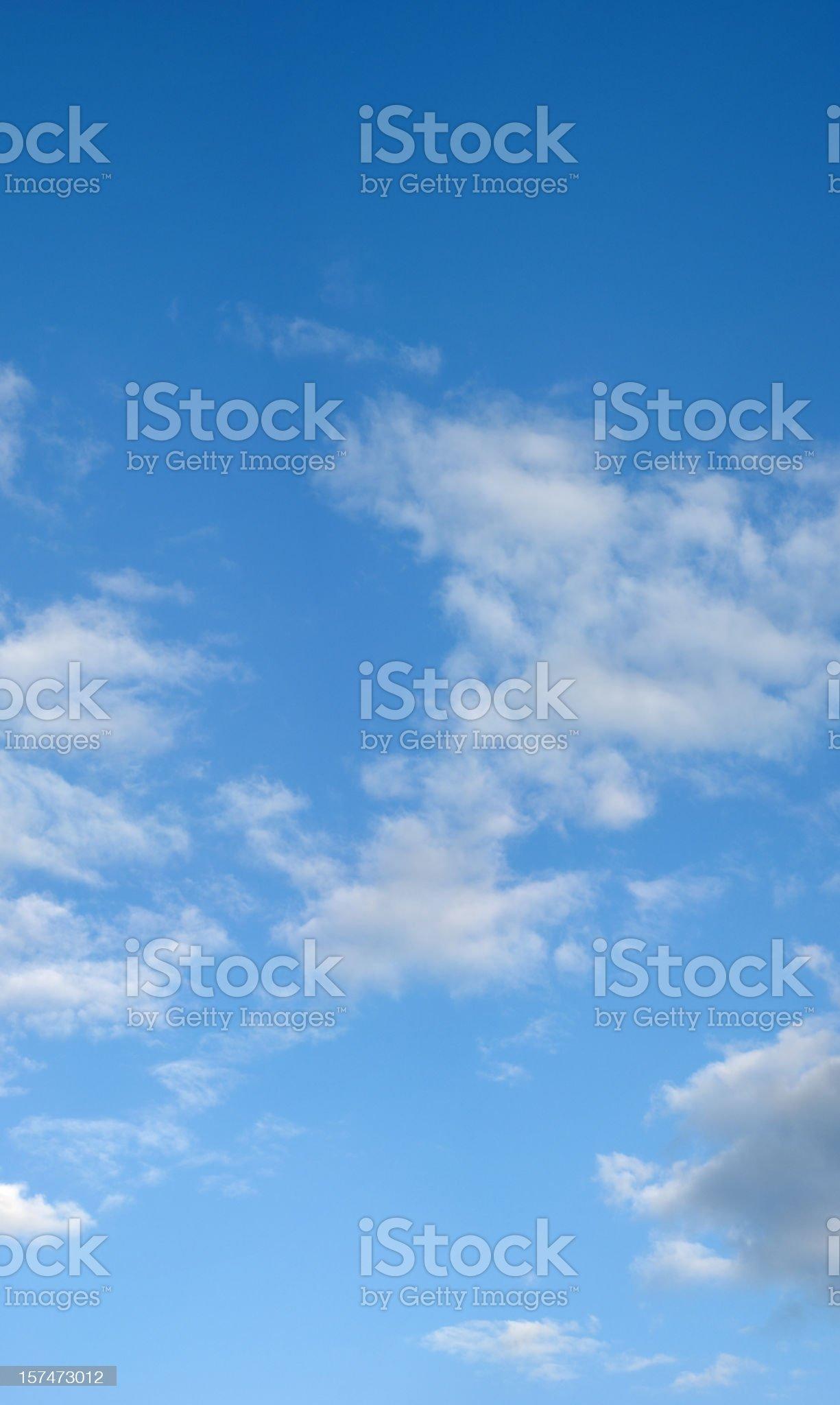 Cloudscape (XXXL size) royalty-free stock photo