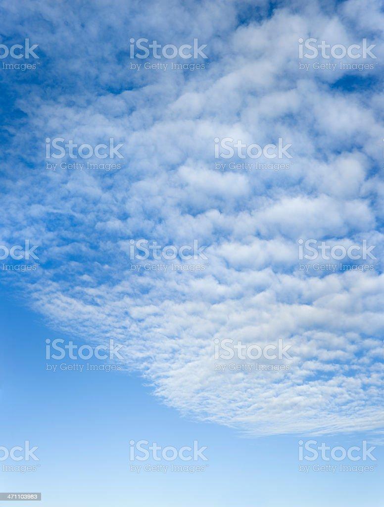 cloudscape (image size XXL) royalty-free stock photo