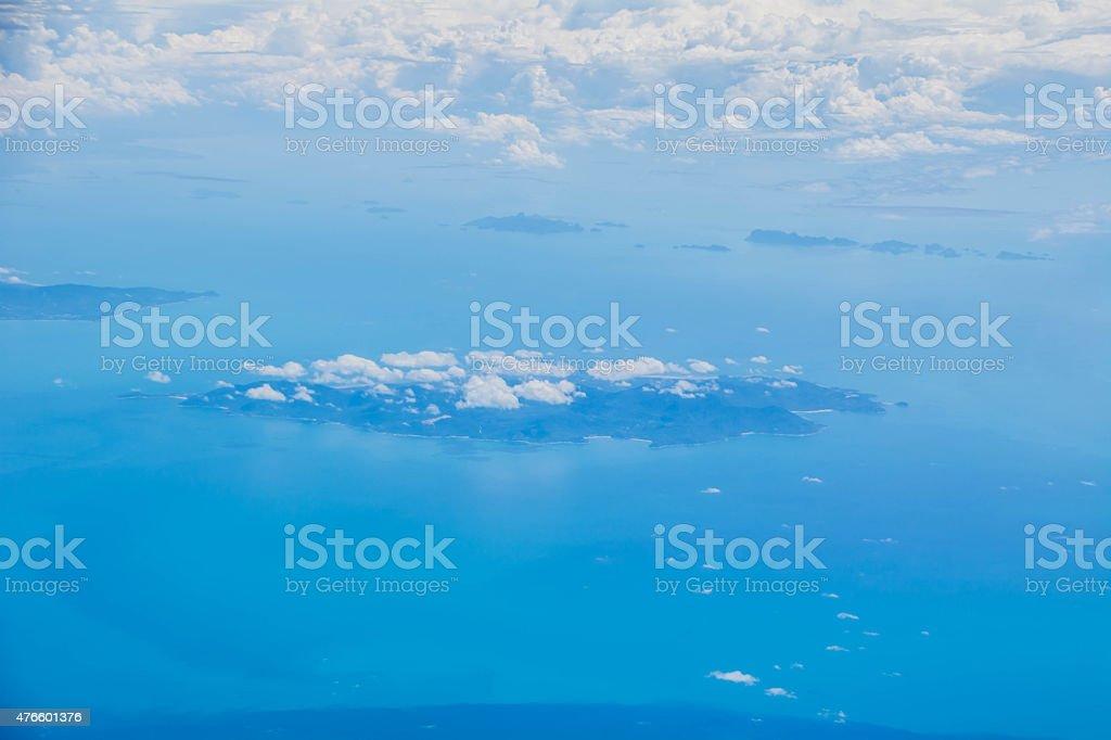 Wolkengebilde Lizenzfreies stock-foto
