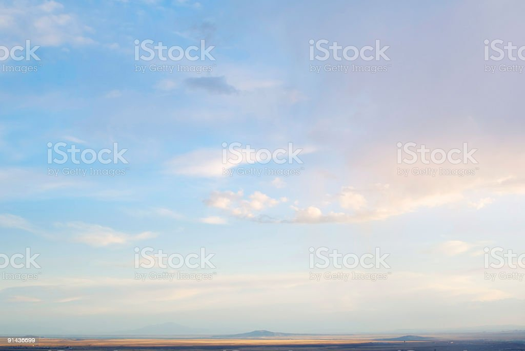 cloudscape sky sunset abstract mountain landscape royalty-free stock photo