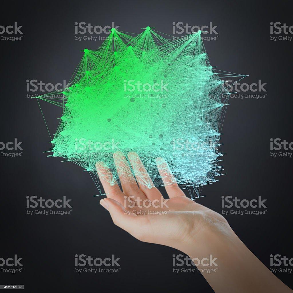 Cloudscape Technology stock photo