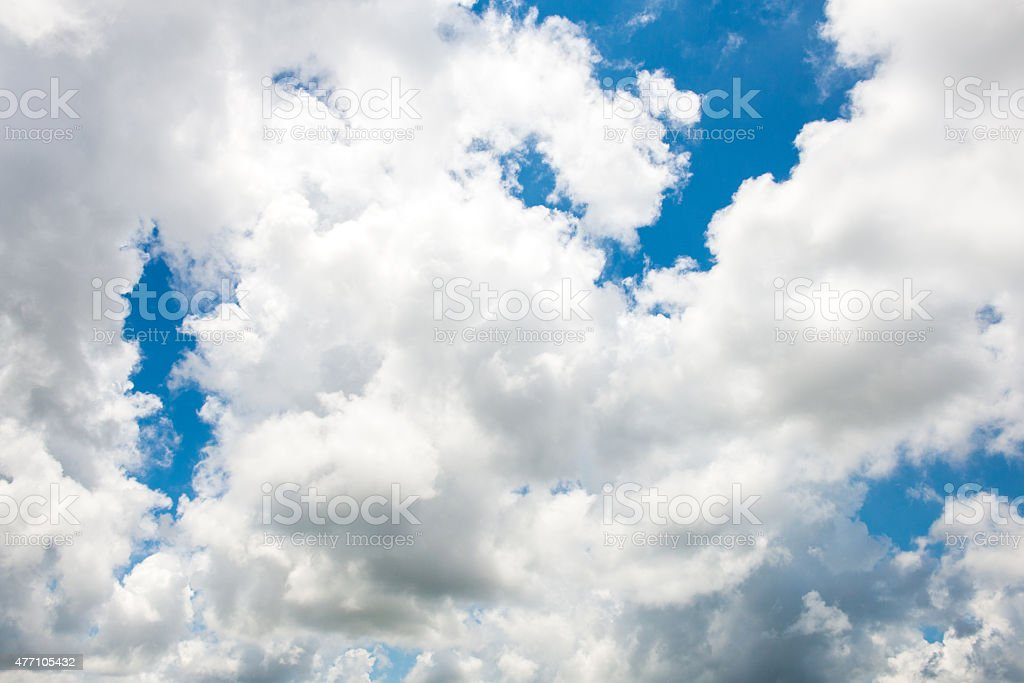 Cloudscape texture stock photo