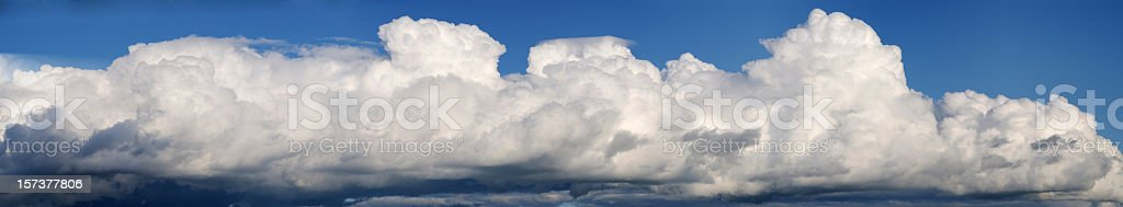 Cloudscape XXLarge royalty-free stock photo