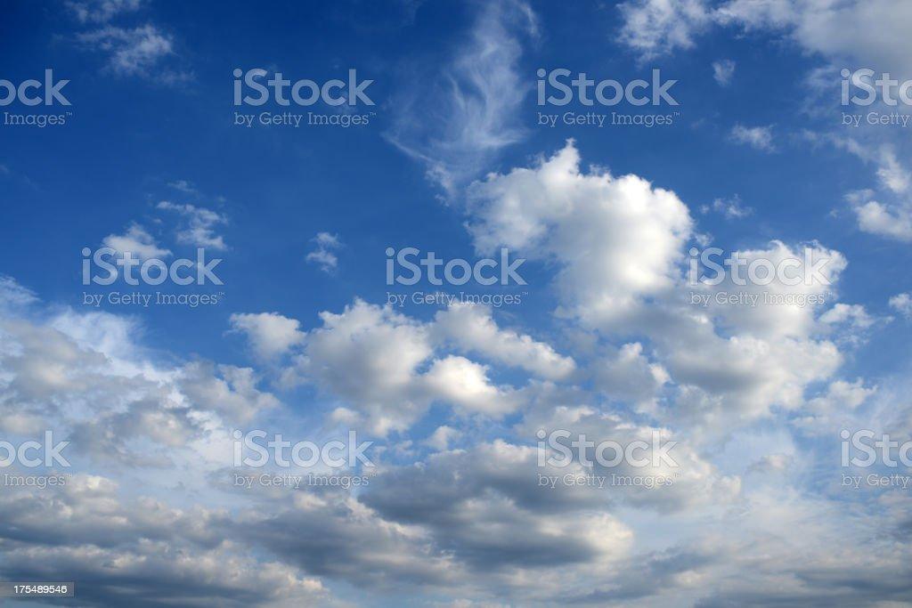 Cloudscape - XXXXXLarge royalty-free stock photo