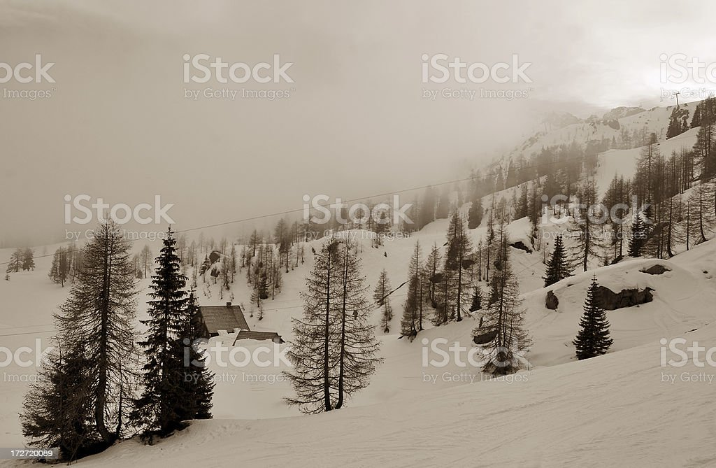 Cloudy afternoon royalty-free stock photo