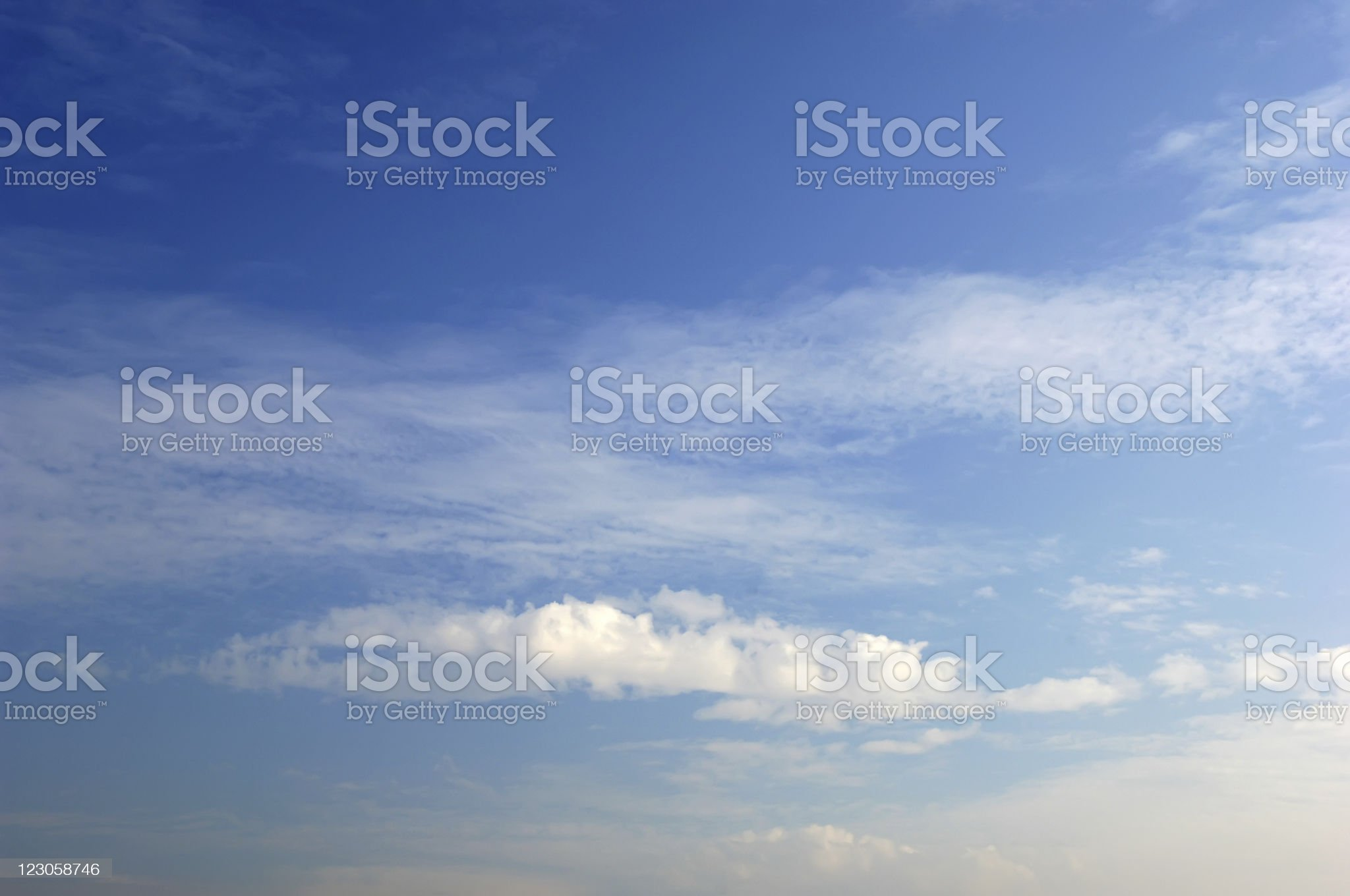 cloudy bright sky royalty-free stock photo