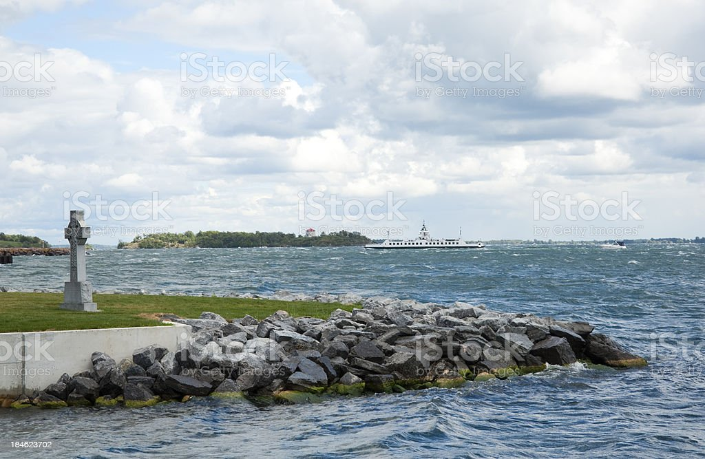 Cloudy Day In Kingston royalty-free stock photo