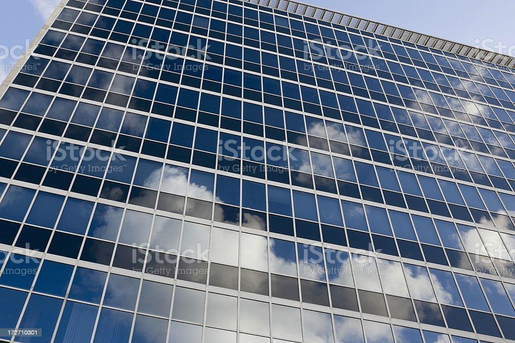Cloudy Facade royalty-free stock photo