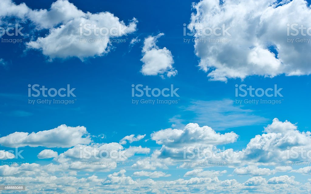 cloudy heaven stock photo