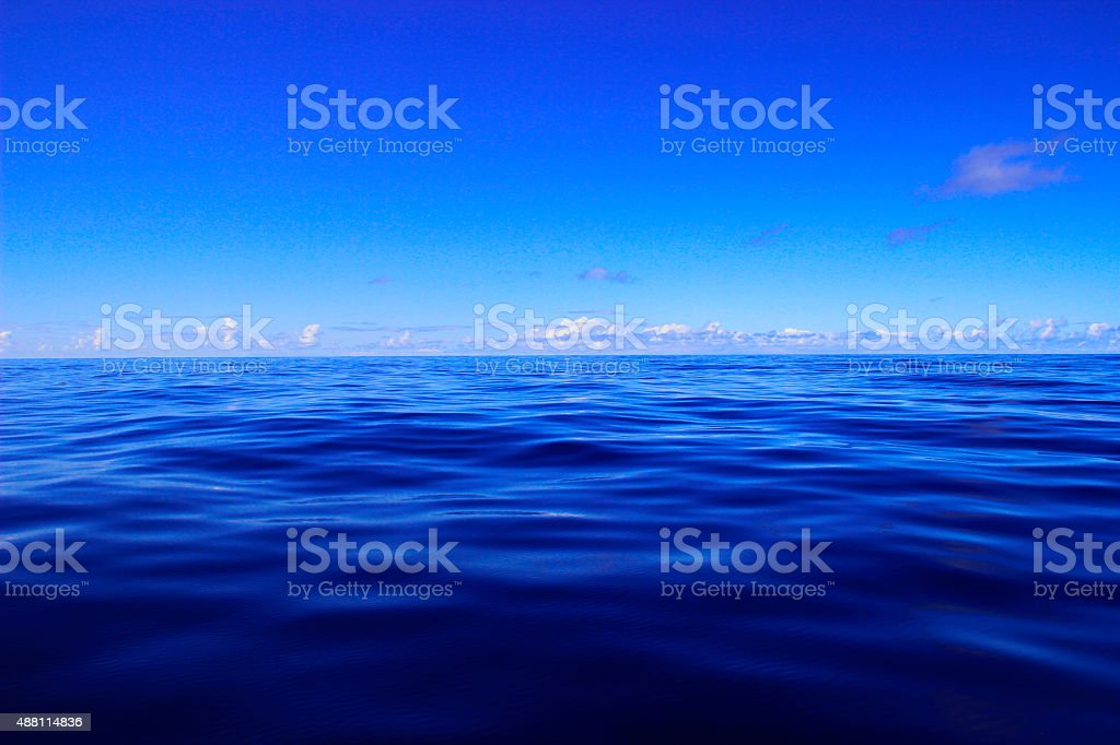 Cloudy sky and sea royalty-free stock photo