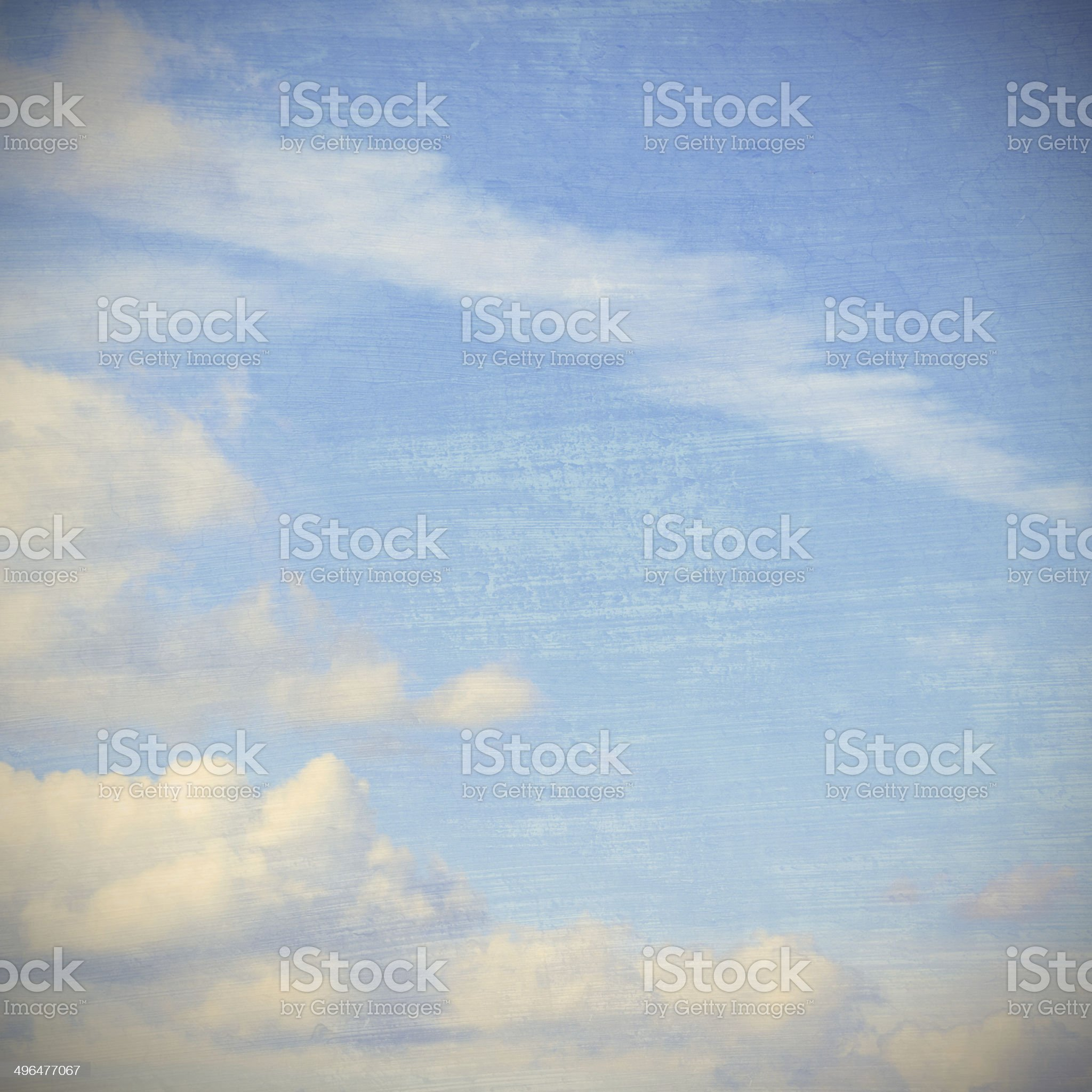 cloudy sky, grunge and vintage image royalty-free stock photo