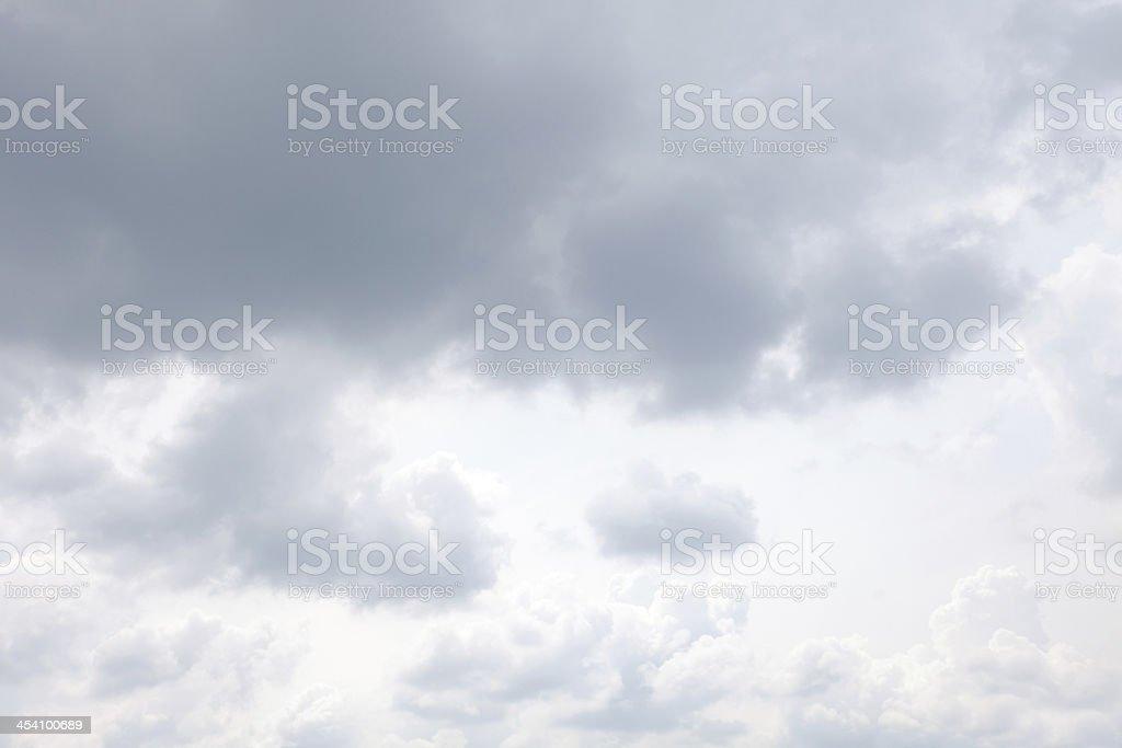 Cloudy sky royalty-free stock photo